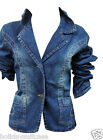 NEW GIRLS TEENAGER DENIM FASHION JACKET SIZE AGE 14/15/16/17 YEARS