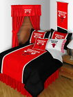 Chicago Bulls Comforter Sham Bedskirt Curtains Valance Twin to King Size