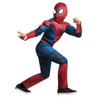 Spider-Man Muscle Chest Costume Boy Child L Large 12-14 Kids Halloween Dress Up