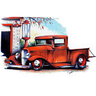 * Vintage Truck T-Shirt Hot Rod classic Ford car 40s PickUp Auto Oldtimer *1185