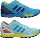 Adidas ZX Flux Cyan Men's Fashion Sneaker Shoes rare! Special Collectors Edition