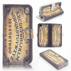 Ouija board Supernatural Wallet Leather case for Apple Ipod Touch 5 AI0009