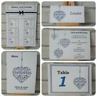 BAUBLES Handmade Invitations - Wedding, Birthday, Party Pack Of 10