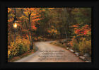 Family Ties Robin-Lee Vieira 12x18 Autumn Landscape Inspirational Framed Art
