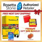 Rosetta Stone® GERMAN 1-5 HOMESCHOOL SET + GIFT BOX + DICTIONARY! CYBER MONDAY!