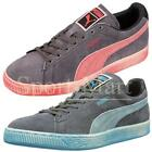 mens Puma Suede Lo Washed BRTS Trainers Sportswear Casual Lace Up Shoes Size