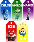 Personalised Inside Out Gift Tags Birthday Christmas Events