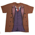 Doctor Who 10th Doctor Outfit Adult T-Shirt