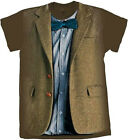 Doctor Who 11th Doctor Blue Shirt Costume Adult T-Shirt