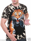 Tiger Wild Animal T-Shirt Sz M L XL XXL Heavy Metal Rock Tattoo Biker mma Y1