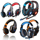 KOTION EACH Pro Stereo Super Bass Gaming Headsets Headphones w/mic for PC Game