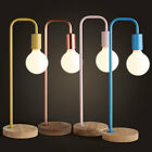 Home Solid Wood Base Table Lights Bedside Desk Floor lamp  Table Lamp Decor 1768