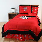 Texas Tech Raiders Comforter and Sham Twin Full Queen King Size Reversible