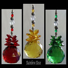 Suncatcher #50 CRYSTAL BALL 40mm RED, YELLOW or GREEN Sphere Christmas colours