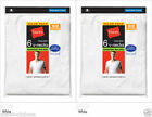 12-Pack Hanes Men's TAGLESS® V-Neck Undershirt T-Shirt White S-XL LOT A