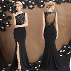 PLUS SIZES LONG BRIDESMAID WEDDING FORMAL EVENING GOWN PARTY COCKTAIL PROM DRESS