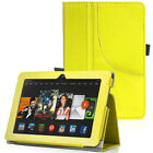 "PU Leather Pocket Stand Case Cover w/ Hand Strip for Kindle Fire HDX 7"" 2013"