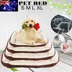 Heavy Duty Pet Bed Mattress Dog Cat Pad Mat Cushion Extra Large Medium Small NEW