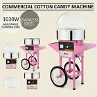 Candy Floss Making Machine Cotton Candy Maker With Cart For Party Cooking Snacks