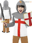 Childs Horrible Histories Knight Fancy Dress Costume Boys Outfit Book Week Kids