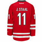 Jordan STAAL Carolina Hurricanes Reebok Premier Officially Licensed NHL Jersey