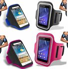 NEW FOR SPORTS RUNNING GYM ARMBAND STRAP CASE COVER FOR VARIOUS HTC PHONES