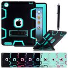For APPLE iPad 2/3/4 Mini Air Hybrid Shockproof Heavy Duty Hard Stand Case Cover