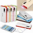 20000mAh Dual External Battery Charger Power Bank USB Cable For MobilePhones
