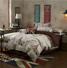 Eiffel Tower Paris Quilt/Duvet Cover Set Single/Double/King Szie
