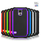 Protective Durable Heavy Duty Tough Hard Case Cover For Samsung Galaxy S5 S4 S3