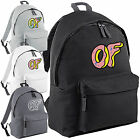 Odd Future Doughnut Backpack - OFWGKTA Tyler The Creator Wolf Gang College Bag