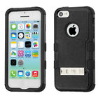 Tough Solid Dual Layer Hybrid Combo Stand Protector Phone Case Apple iPhone 5c