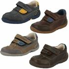 Boys Clarks First Shoes Softly Lo