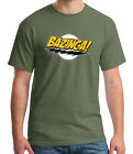Bazinga Adult's T-shirt Big Bang Theory Sheldon Cooper Tee for Men - 1192C