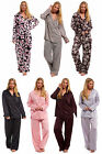 Satin Ladies Pyjamas PJs Buttoned with Piping Plain Shirt Blouse Navy Blue White
