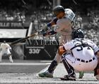 BJ894 Robinson Cano Mariners Smashing The Ball MLB 8x10 11x14 Spotlight Photo