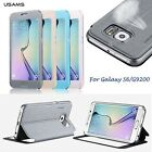 Elegance Full Screen Flip leather smart Case Cover for Samsung Galaxy S6 G9200