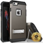 OBLIQ iPhone 6S Plus /6 [Skyline Advance] Case Dual Layer Metal Kickstand Cover