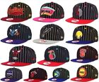 New Era Authentic NBA 9FIFTY 950 Vintage Pinstripe Snapback Original Fit Hat Cap