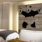 LARGE BANKSY PANDA WALL STICKER TRANSFER NEW BANKSY ART UK POSTED SAME DAY