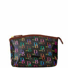 Dooney & Bourke 1975 DB Signature Cosmetic Case