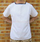 NEW MOD SURPLUS ROYAL NAVY CLASS II MANS & WOMENS WHITE RIG TOP-PARADE DRESS
