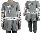 Girls Top and Leggings 2 Piece Set Girl Design Full Outfit Kids Clothes Age 2-3y