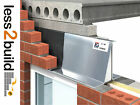 Catnic IG Steel Cavity Lintel 50mm L5/50 50-65mm Extra Heavy Duty 600-4800mm