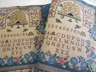 """Beehive sample cotton poly unfinished tapestries 8 pieces 14-1/2"""" x 13"""""""