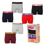 Tokyo Laundry Mens Marshall River 2 Pack Sport Boxers Shorts Trunks Underwear