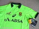 ASICS SOUTH AFRICA SPRINGBOKS RUGBY WARM UP TRAINING SHIRT JERSEY ORIGINAL PACK