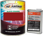 Advantage Alkyd Synthetic Enamel RAL 3003 Ruby Red Equipment Paint