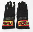 RCI RACE GLOVES Nomex Single Layer Black SFI 3.3/1 Racing JR. Sizes NEW