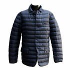 PIUMINO 100 GRAMMI UOMO GEOX MAN DOWN JACKET DARK NANY BLU M5425AT1816F4300